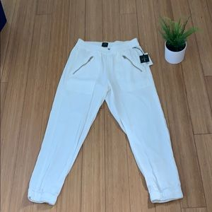 DWP Cropped Brody Pant in white